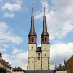 Halle/Saale, Ev. Marktkirche, Blaue Türme