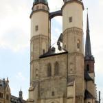 Halle/Saale, Ev. Marktkirche, Hausmannstürme
