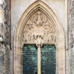 Halle/Saale, ehem. Ulrichskirche, Portal