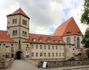 Halle/Saale, Schlosskapelle der Moritzburg