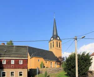 Hilbersdorf, Ev. Pfarrkirche