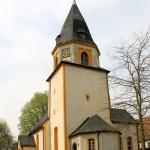 Hohburg, Ev. Pfarrkirche, Turm und Apsis