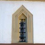 Hohendorf, Ev. Pfarrkirche, Fenster in der Sakristei