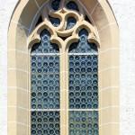 Hohendorf, Ev. Pfarrkirche, Maßwerkfenster