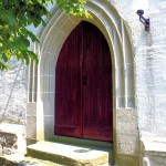 Hohendorf, Ev. Pfarrkirche, Portal