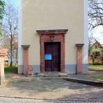 Holzhausen, Ev. Pfarrkirche, Portal