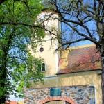 Holzhausen, Ev. Pfarrkirche, Torbogen