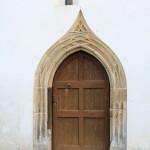 Horburg-Maßlau, Ev. Kirche St. Marien Horburg, Portal