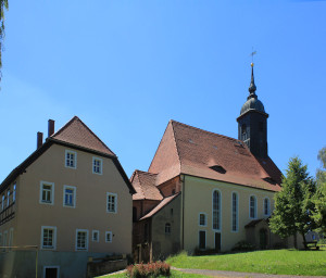Kiebitz, Ev. Pfarrkirche