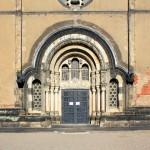 Kleinzschocher, Ev. Taborkirche, Portal