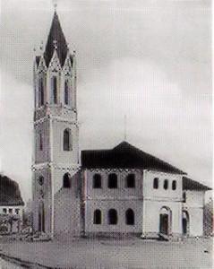 Kirche in Knauthain 1864