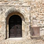Kötzschau, Ev. Kirche, Portal