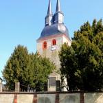 Krostitz, Ev. Pfarrkirche St. Laurentius, Turm