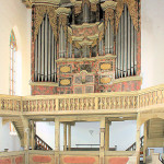 Laucha/Unstrut, Ev. Stadtkirche, Orgel