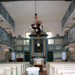 Leißling, Ev. Kirche, Altar