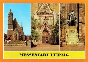Thomaskirche Leipzig, Postkarte 1980er Jahre