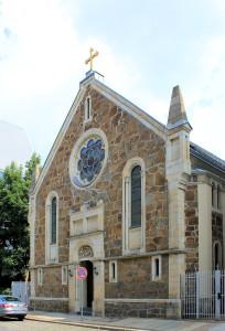 Leipzig, Zentrum-Ost, Kath.-Apostolische Kirche in der Marienstadt