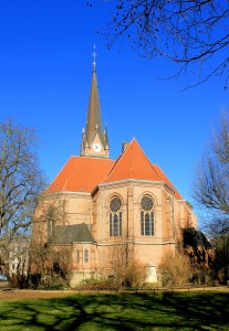Leipzig, Zentrum-West, Ev. Lutherkirche, Chor