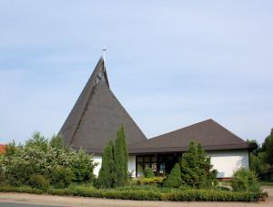 Magdeburg-Neustädter See, Kirche der Ev. Hoffnungsgemeinde