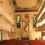 Marbach, Ev. Pfarrkirche, Kanzelaltar
