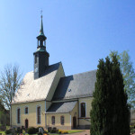 Milkau, Ev. Pfarrkirche Großmilkau