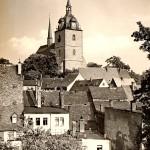 Stadtkirche Mittweida, Postkarte um 1960