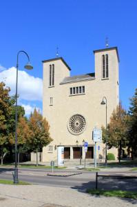 Naumburg. Katholische Kirche St. Peter und Paul