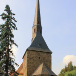 Ev. Pfarrkirche Neukirchen, Turm und Chor