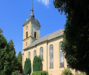 Niederstriegis, Ev. Pfarrkirche