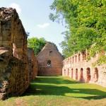 Kloster Nimbschen, Blick nach Norden