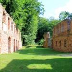 Kloster Nimbschen, Blick nach Süden