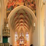 Stadtkirche St. Aegidien Oschatz, Schiff und Altar