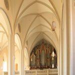 Stadtkirche St. Aegidien Oschatz, Schiff und Orgel