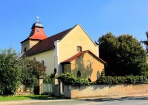 Ostrau (Elsteraue), Ev. Kirche