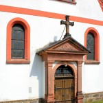 Otterwisch, Ev. Pfarrkirche, Portal