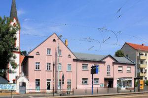 Ev. Pfarrhaus und Kirchgemeindehaus Paunsdorf