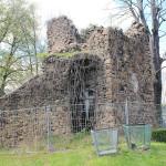 Penig, Ev. Stadtkirche, Wehrturm auf dem Friedhof