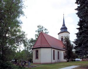 Pissen, Ev. Kirche