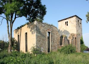 Pobles, Ev. Kirche (Zustand 2011)