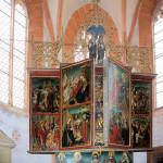 Pötewitz, Ev. Kirche St. Sebastian, Altar