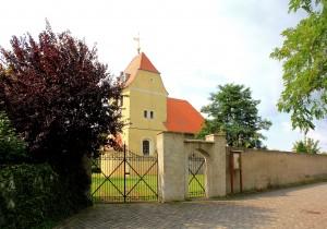 Kleinpötzschau, Ev. Pfarrkirche