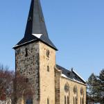 Poserna, Ev. Kirche