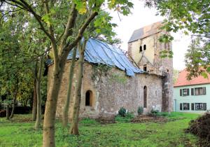 Rieda, Ev. Kirche, Nordseite