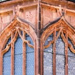 Rochlitz, Schlosskapelle, Maßwerkfenster
