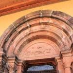Rochsburg, Ev. Pfarrkirche, Portal