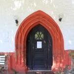 Roda, Ev. Pfarrkirche, Portal