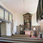 Röcken, Ev. Kirche, Altar