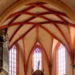 Rötha, Ev. Marienkirche, Chor und Altar
