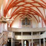 Rötha, Ev. Marienkirche, Silbermann-Orgel