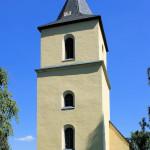 Sachsenburg, Ev. Pfarrkirche, Turm